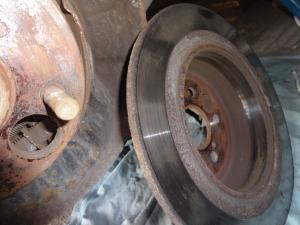 Numontuotas diskas
