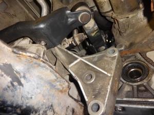 Sumontuota variklio pagalvė